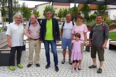 Die GALL-Delegation zusammen mit Bürgermeister Schaffer, Plüderhausen