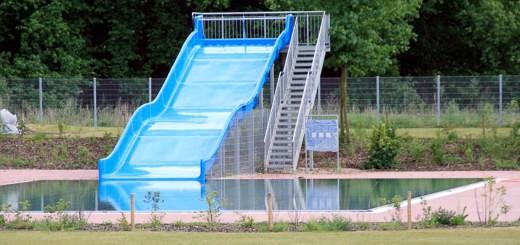 Wehmütig denkt man an das ehrwürdige Parkschwimmbad zurück ...