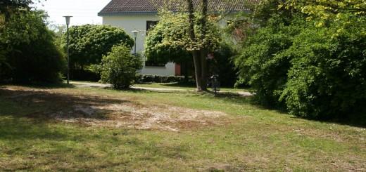 In Erwartung künftiger Gärtner – das Gelände des ehemaligen Spielplatzes