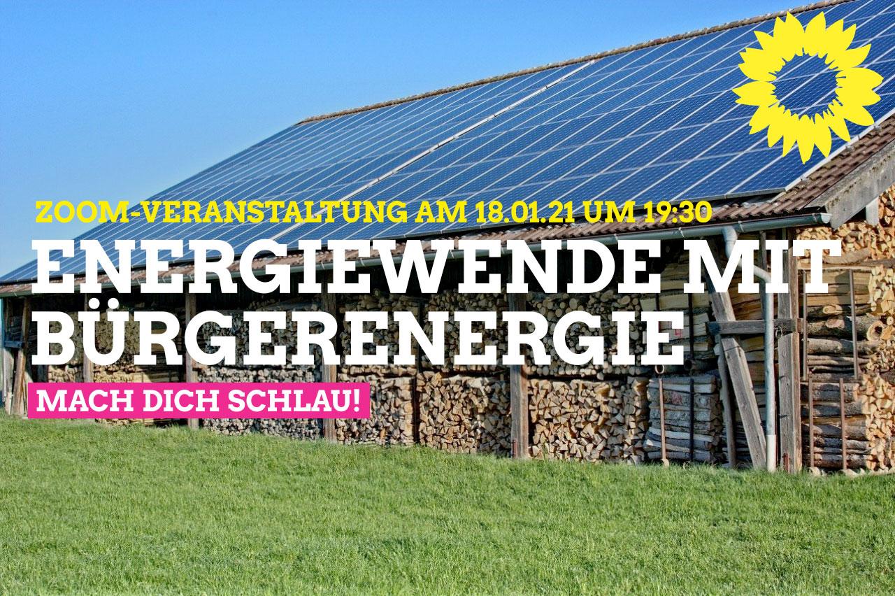 Energiewende durch Bürgerenergie vorantreiben