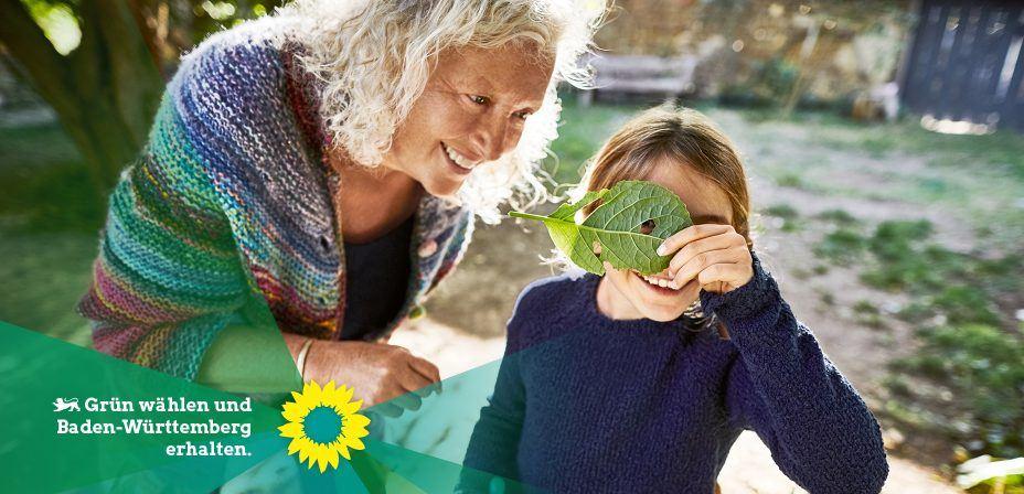 Grün wählen und Baden-Württemberg erhalten