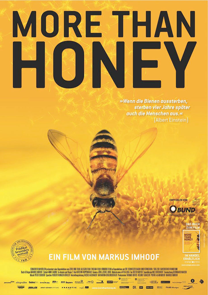 """Filmplakat """"More than Honey"""""""
