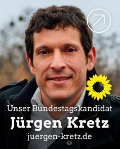 Link zum Bundestagskandidaten Jürgen Kretz