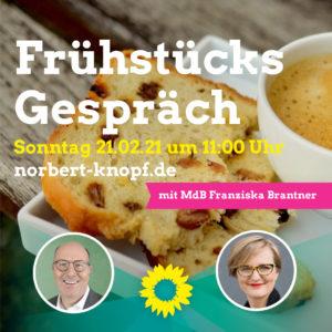 Frühstücksgespräch mit Franziska Brantner