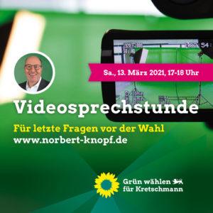 Videosprechstunde mit Norbert Knopf